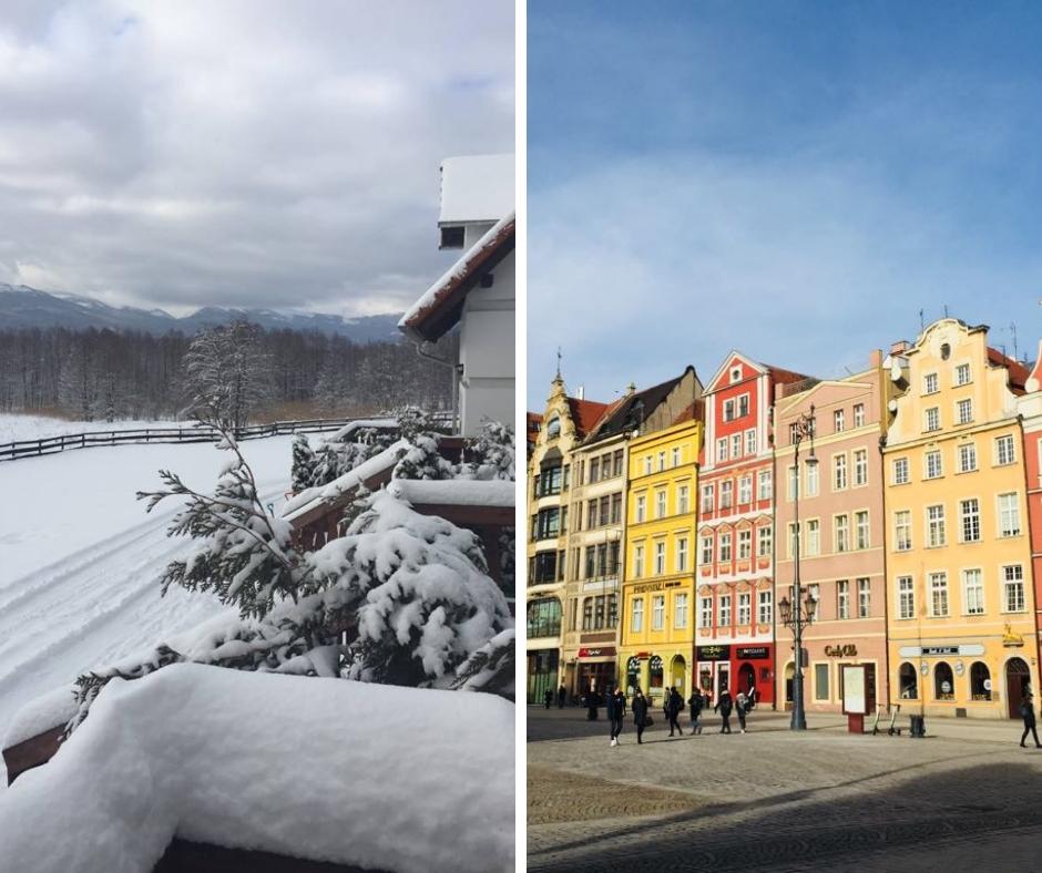 Nasze ferie w Karkonoszach i we Wrocławiu